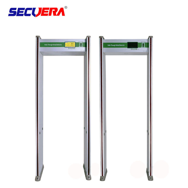 IP 55 Weather - Proof Full Body Metal Detectors For Embassies Police Facilities