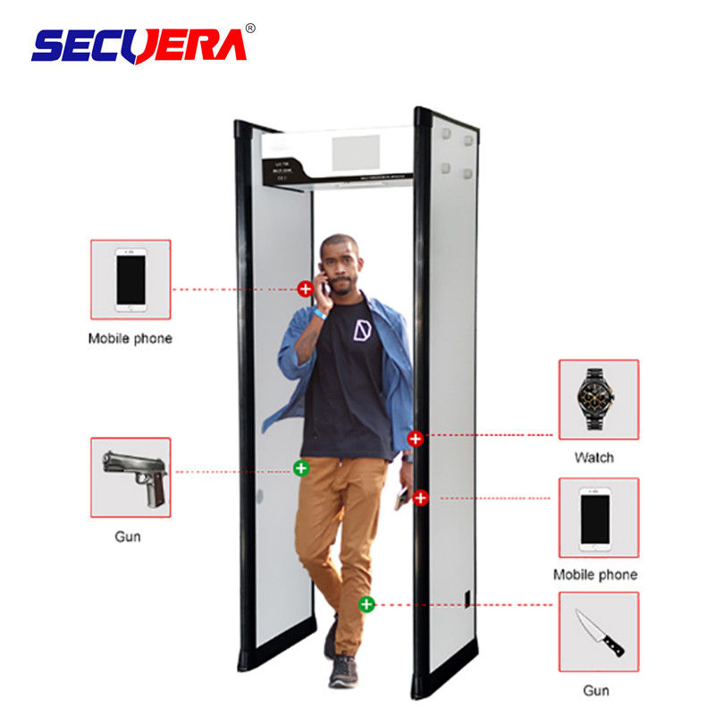 Light Weight  Door Frame Metal Detector 40KG Grosee Weight For Exhibition Halls