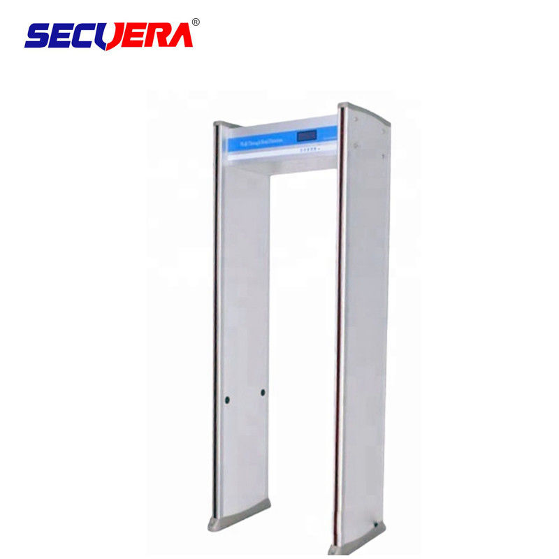 Adjustable Sensitivity Walk Through Metal Detector With PVC Synthetic Material