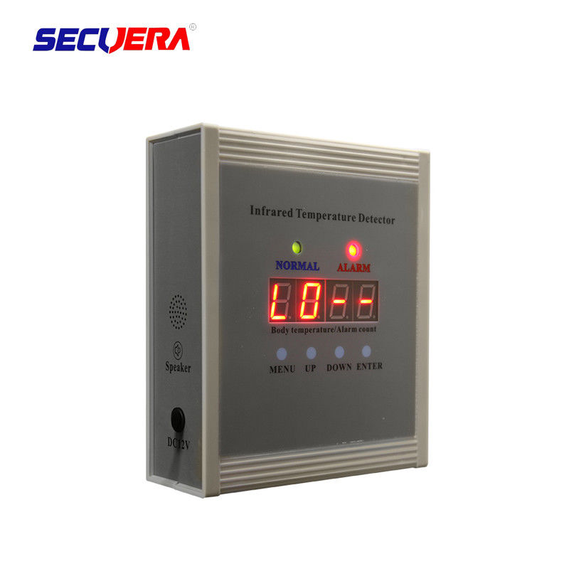 Adjustable Sensitivity Infrared Body Temperature Detector Non Contact Automatic Scanning
